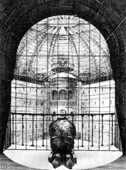 El panóptico como teoría de vigilancia y control - Foucaul