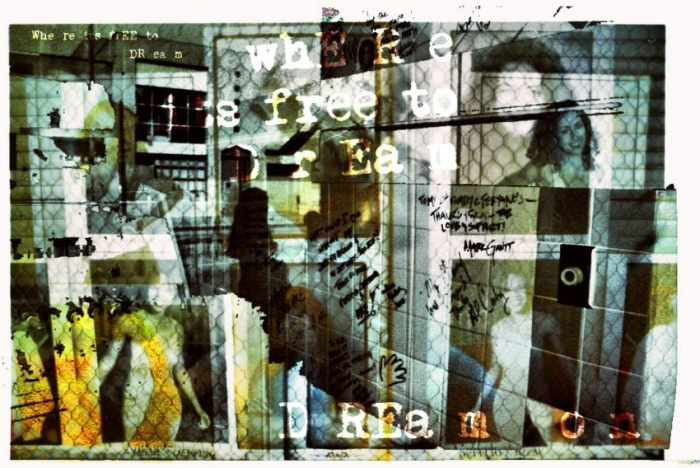 "Figura 1. ""Dream on/street art"", fotografía de Nitsa (nonphotography.com)."