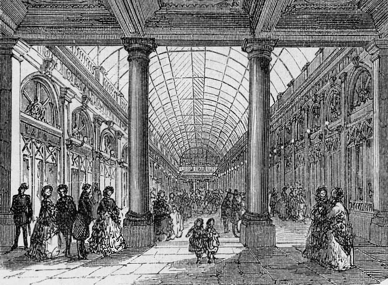Figura 1. Galerie d'Orleans, 1872.