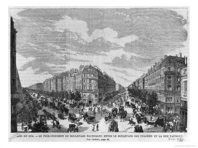Figura 5. Boulevard Haussman, 1878.