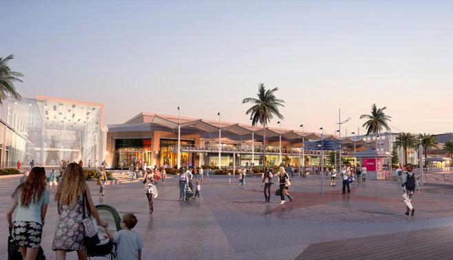 """Imagen del proyecto """"Puerto Barón"""", por Mall Plaza."""