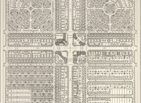 """Fig. 2. Ilustración de """"Zoning by design"""", Charles H. Diggs, 1931. Fuente: rmc.library.cornell.edu"""
