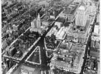 Vista aérea, Boston, 1954-59 - Fotografía perteneciente a la colección Kevin Lynch y Georgy Kepes de los Archivos MIT LIbraries
