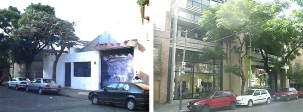 Fig. 7. Palermo Viejo 1998: Vivienda / 2006: Locales de Indumentaria/Departamentos. Fuente: GCBA.