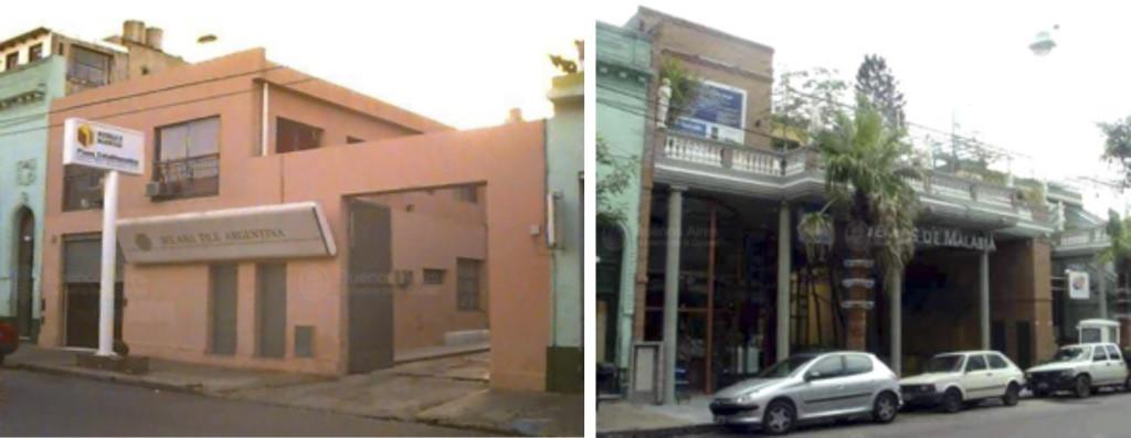 Fig. 8. Palermo Viejo 1997: Oficinas / 2005: Complejo Fuentes de Malabia. Fuente: GCBA.