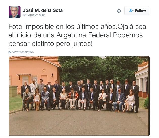 De La Sota