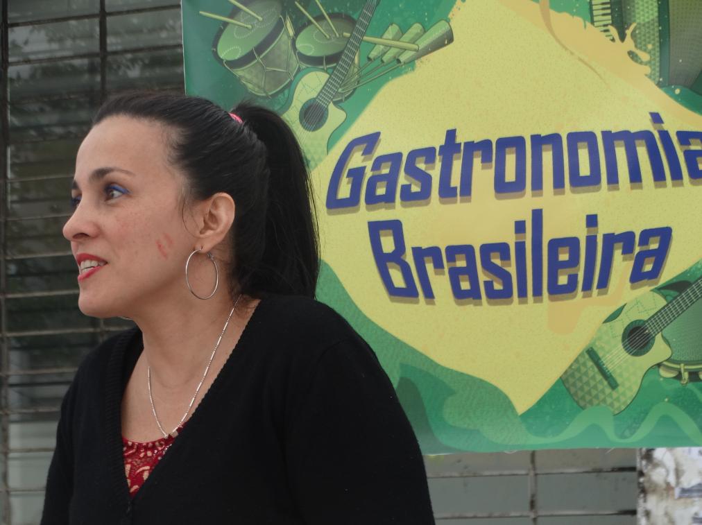 Comida brasileña en las calles de Talca. Fuente: Stefano Micheletti.
