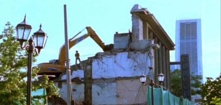 Fotograma de «Aquí se Construye (o ya no existe el lugar donde nací)».